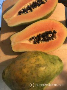 Superfood papaya